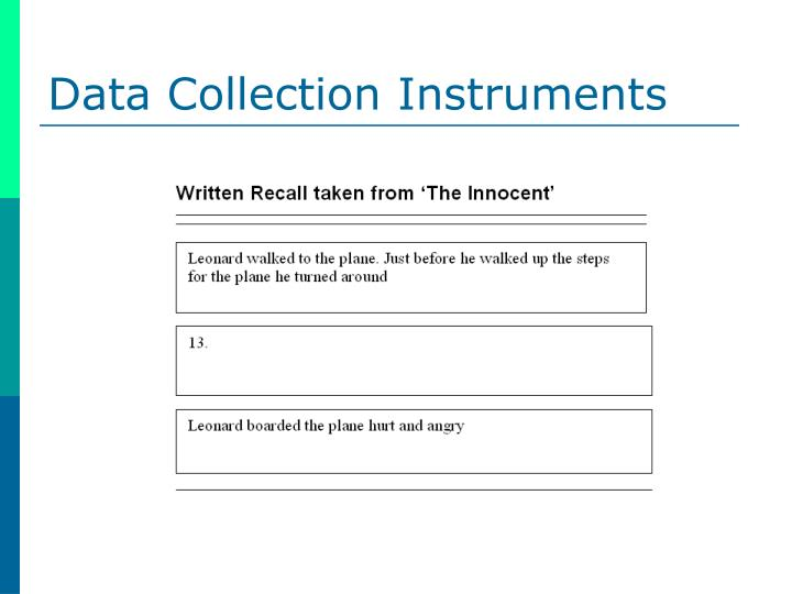 dissertation data collection instruments How do the variables or phenomenon addressed in your study inform the method, design, research questions, and data collection instrument to be used what are two instruments that might be used to gather data for your study  between now and the beginning of the dissertation sequence, no additional input on the literature review will be given.
