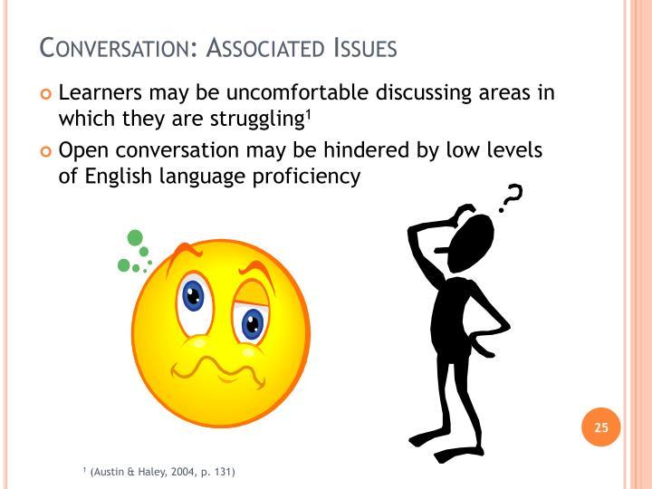 Conversation: Associated Issues