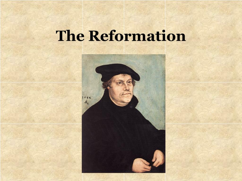 the reformation l.