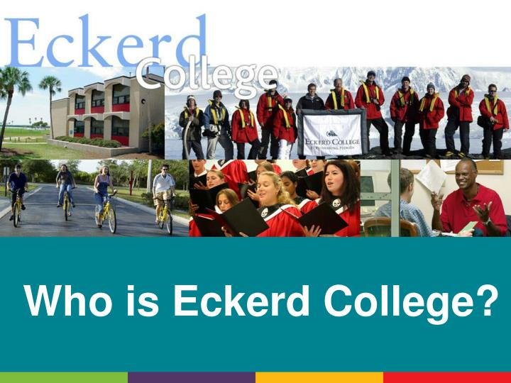 who is eckerd college n.
