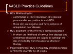 aasld practice guidelines