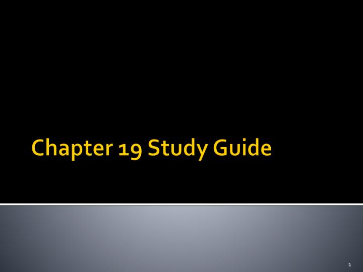 chapter 19 study guide Hole's human anatomy and physiology (shier), 13th edition chapter 19: respiratory system student study outline answers chapter 19 student study.