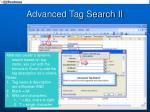 advanced tag search ii