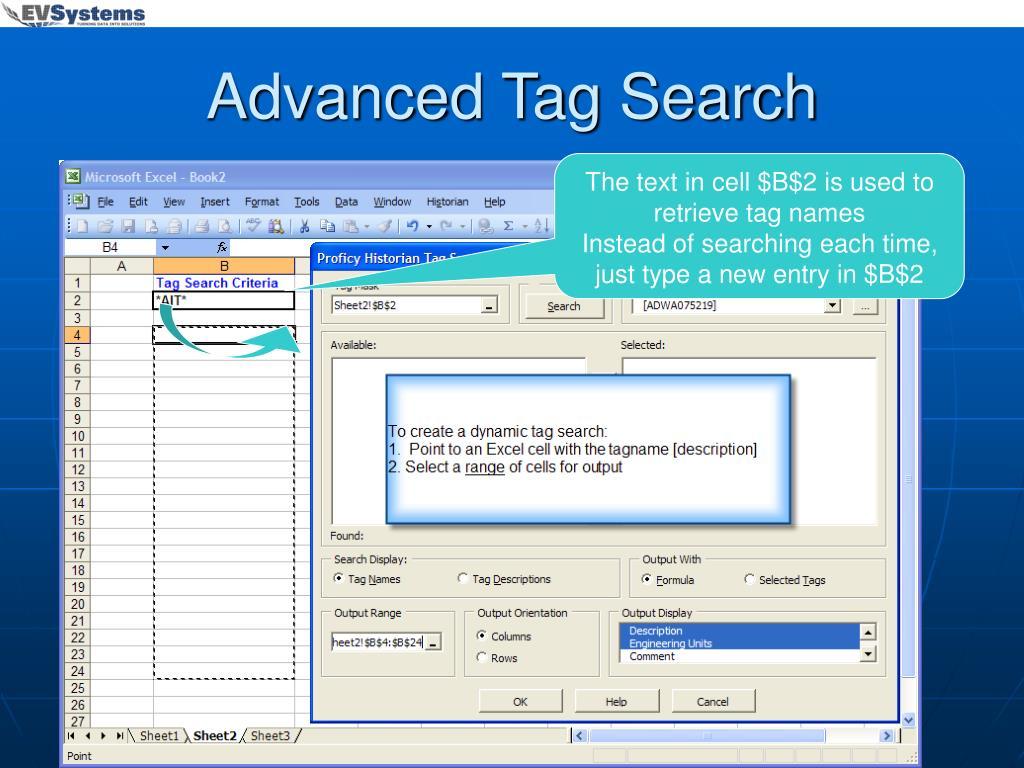 Advanced Tag Search