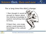 science then then and now7