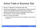 active trade or business test16