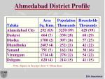ahmedabad district profile
