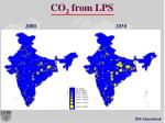 co 2 from lps