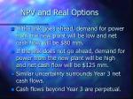npv and real options43