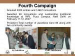 fourth campaign