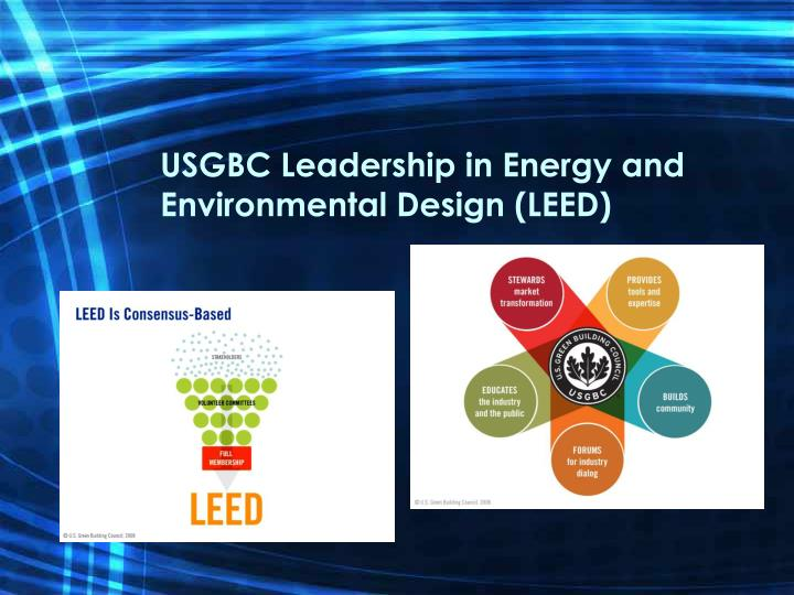 the leadership in energy and environmental design essay Leadership in energy and environmental designtm (leedtm) and higher education: planning for documentation and communication at the university of south carolina.