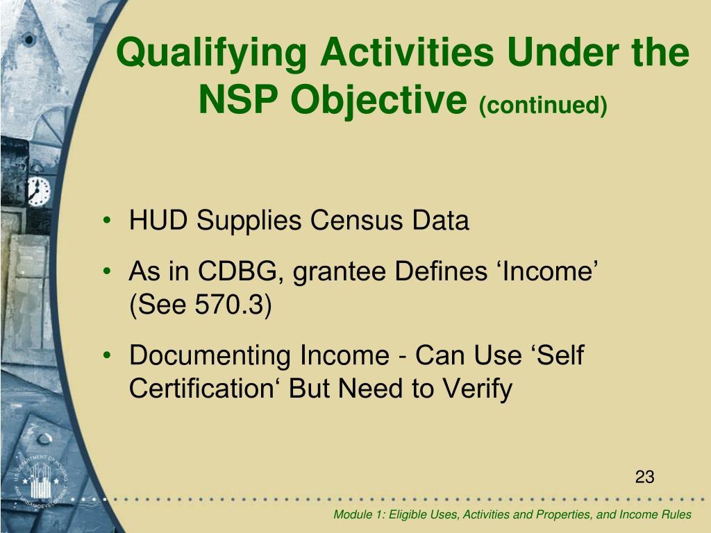 HUD Supplies Census Data