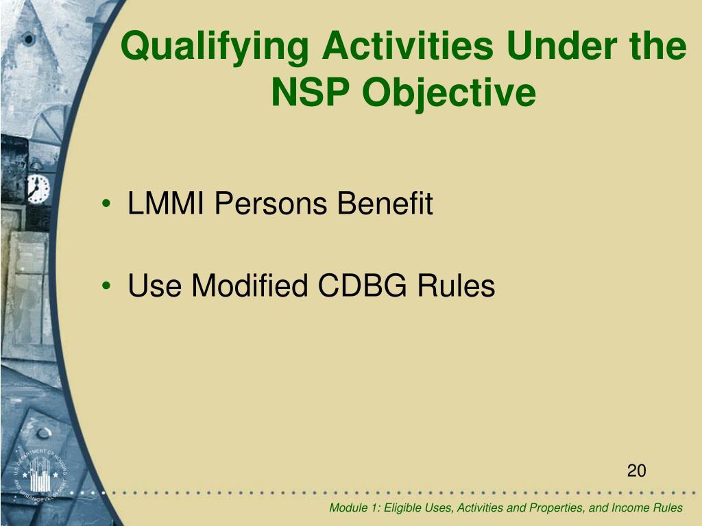 LMMI Persons Benefit