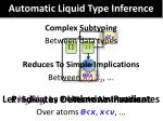 automatic liquid type inference