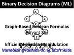 binary decision diagrams ml