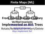 finite maps ml