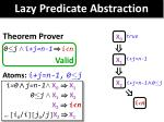 lazy predicate abstraction5