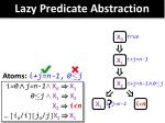 lazy predicate abstraction6