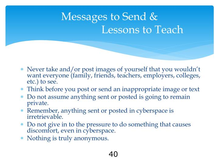 Messages to Send &