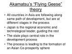 akamatsu s flying geese theory