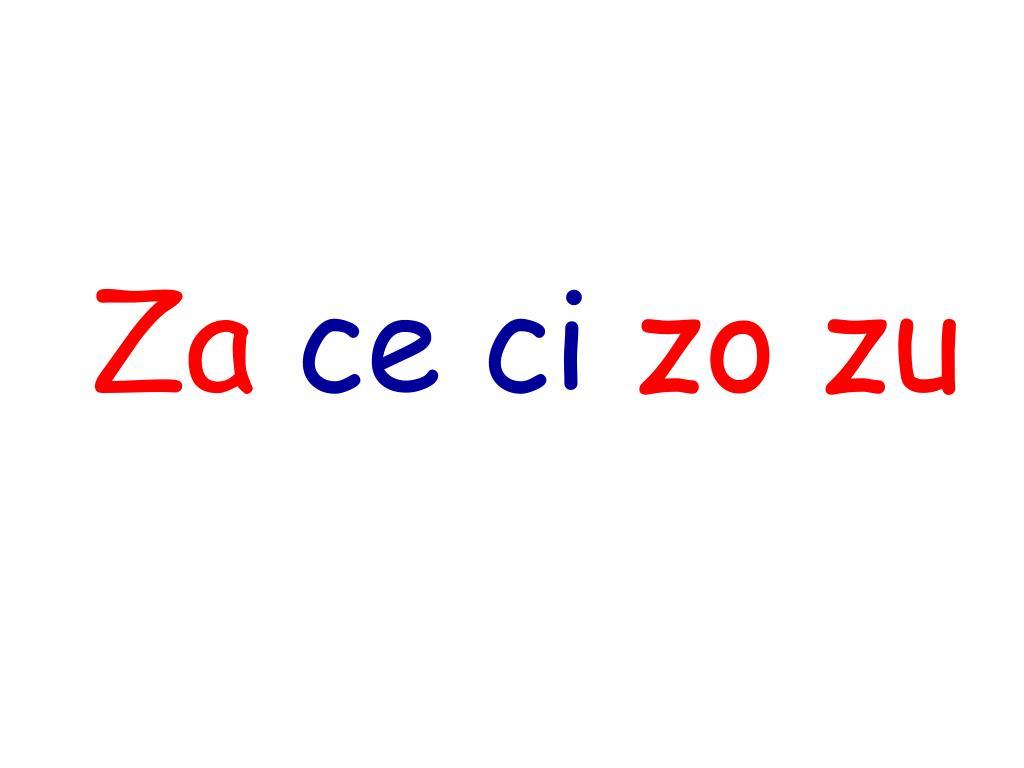 """Resultado de imagen de za ce ci zo zu"""""""