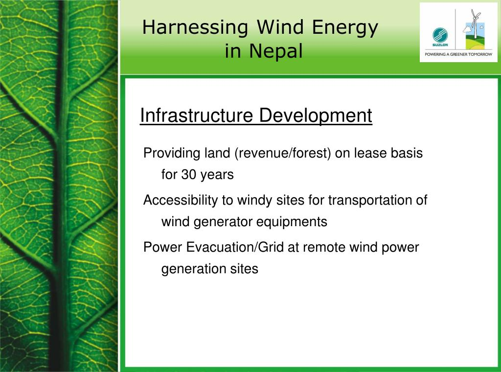 Harnessing Wind Energy