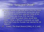 the episcopal ghost