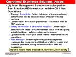 operational excellence solutions assets1