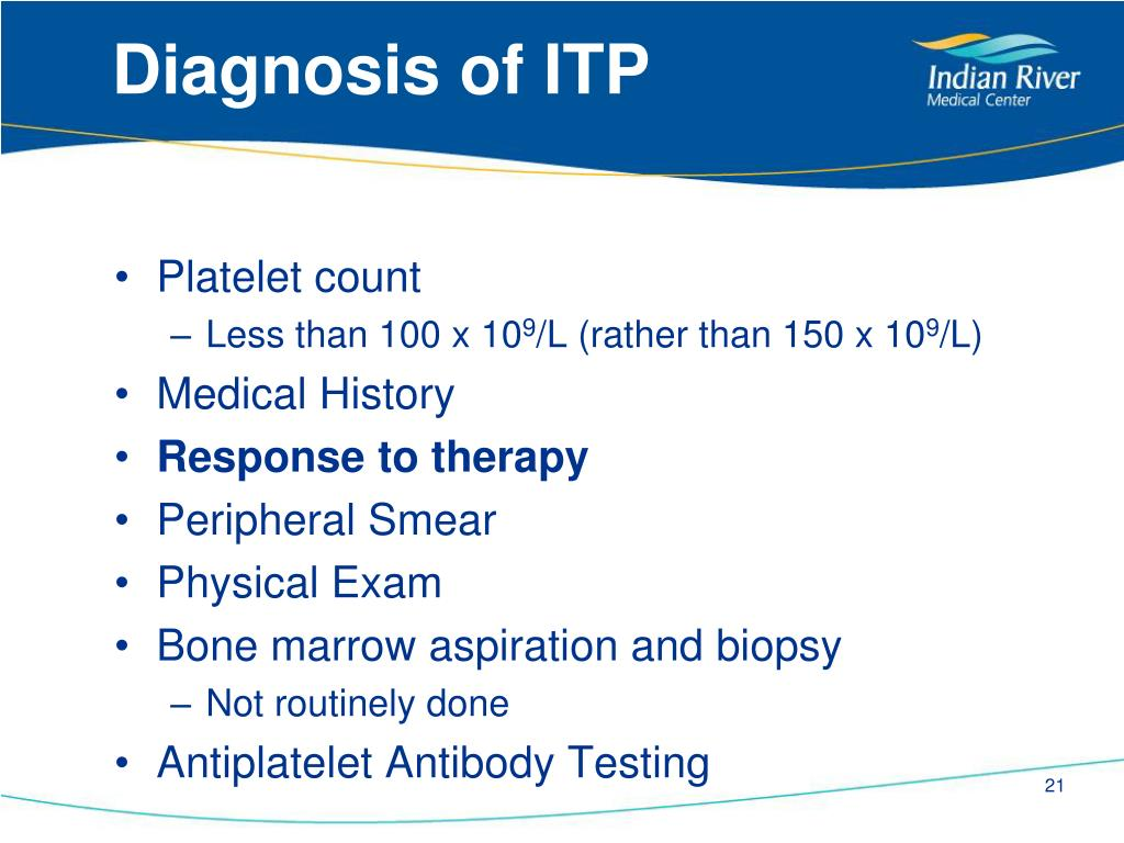 PPT - Immune Thrombocytopenic Purpura PowerPoint
