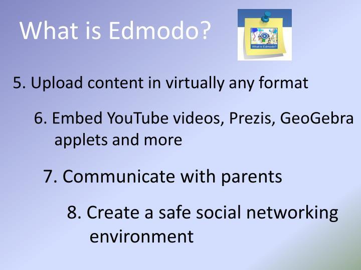 What is Edmodo?