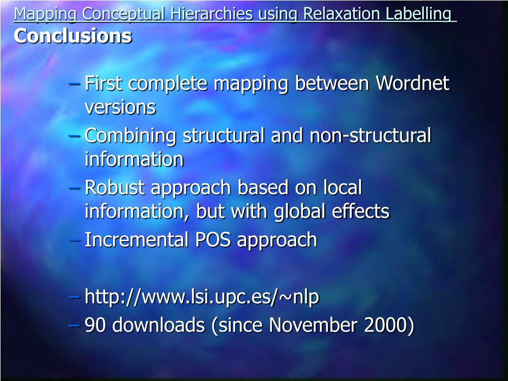 First complete mapping between Wordnet versions