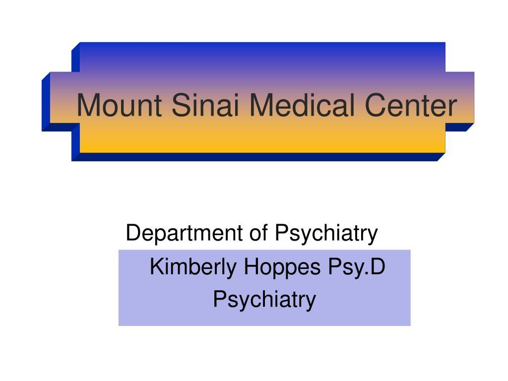department of psychiatry l.