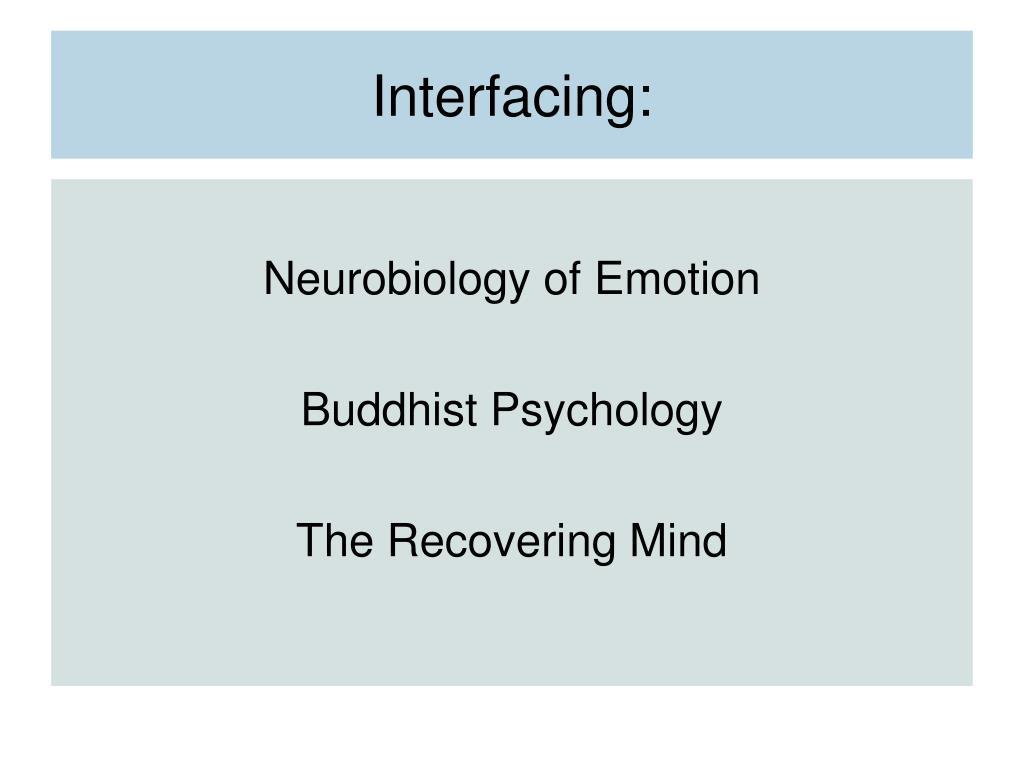 Interfacing: