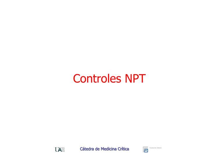 Controles NPT