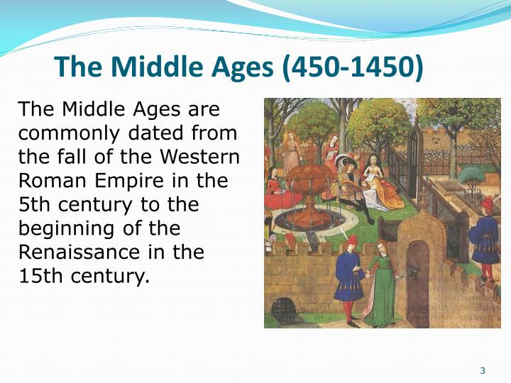 The middle ages 450 14501