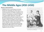 the middle ages 450 145011