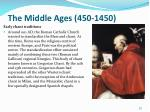 the middle ages 450 145013