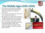 the middle ages 450 14506