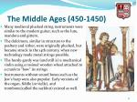 the middle ages 450 14507