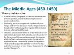 the middle ages 450 14509