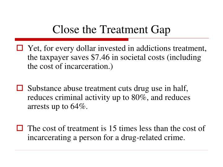 Close the Treatment Gap