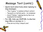 message text contd1