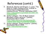 references contd2