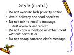 style contd1