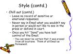 style contd3