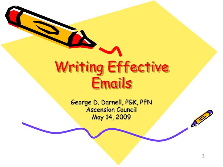 writing effective emails n.