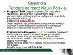 stypendia fundacji na rzecz nauki polskiej1