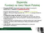 stypendia fundacji na rzecz nauki polskiej2