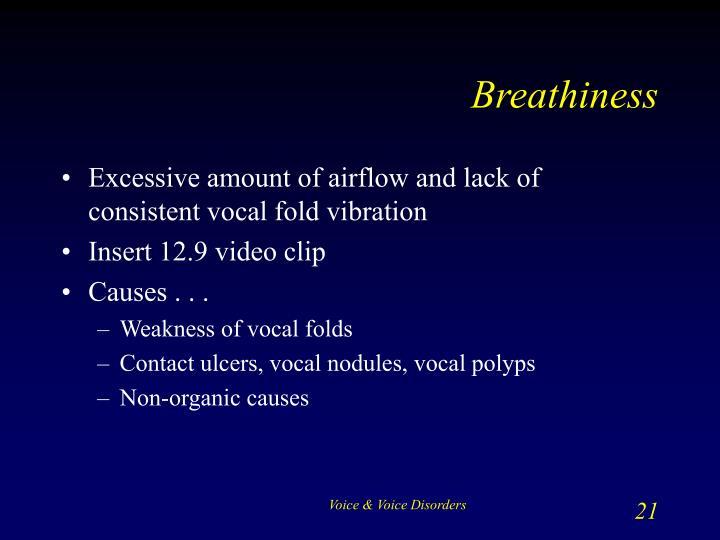 Breathiness