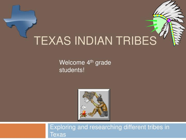 texas indian tribes n.